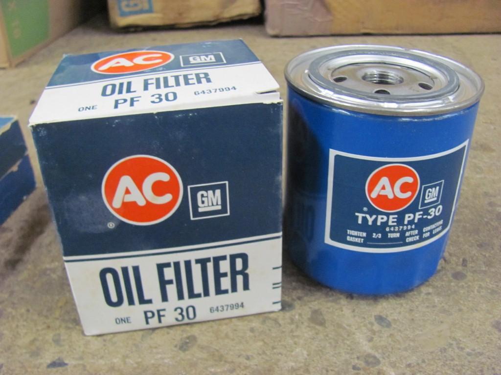 Nos Oldsmobile Olds Pontiac V8 Ac Oil Filter 455 400 350