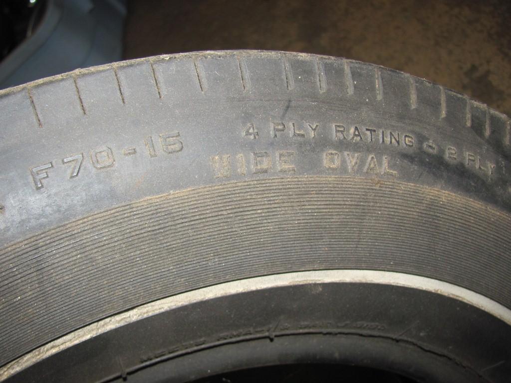 Find Original F70 15 Uniroyal Tiger Paw Tire 68 69