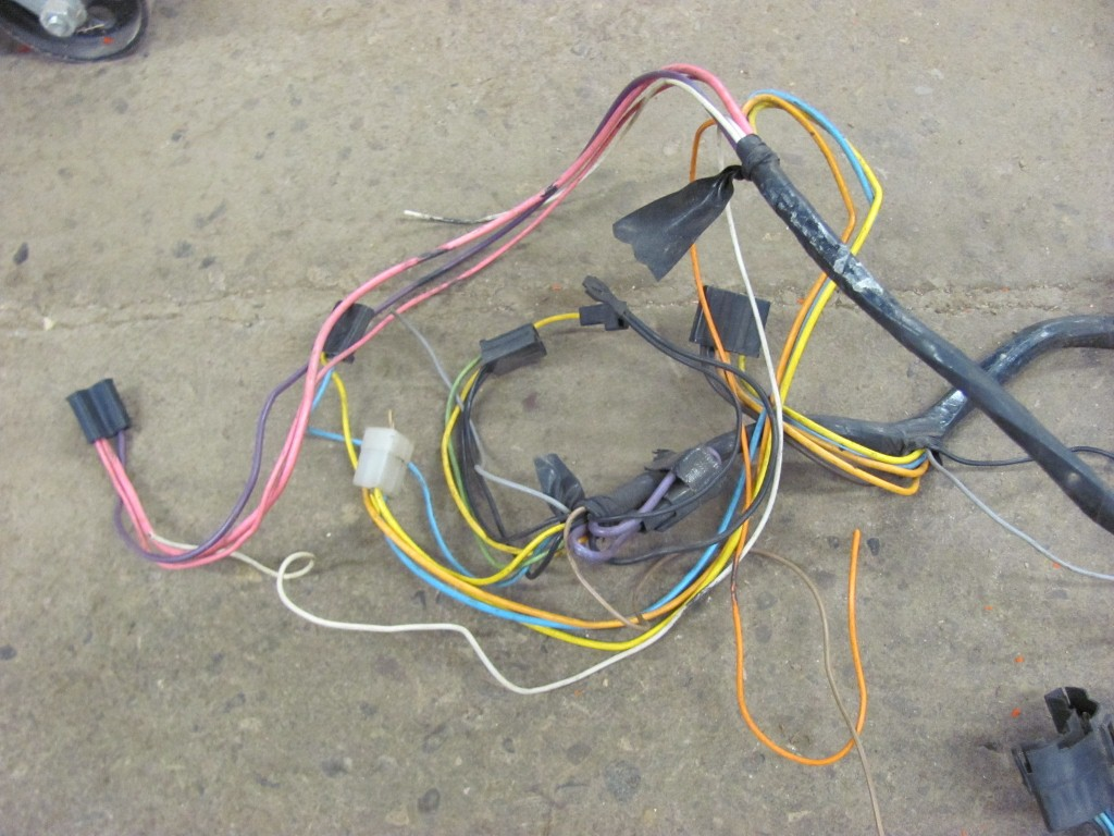 68 69 corvette dash wiring harness gm original 1969 ebay Stereo Wiring Harness Color Codes Delco Radio Wiring Conecter