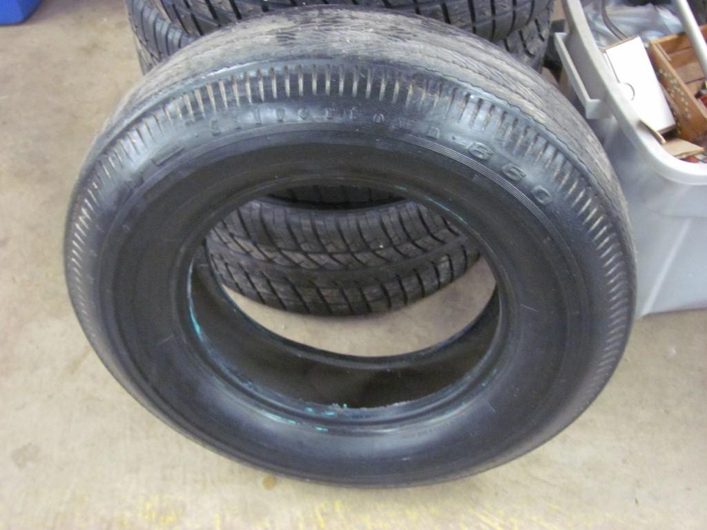 BF Goodrich Silvertown 660 NON DOT 8.15-15 Tire 55 56 57 Ford Thunderbird Truck | eBay