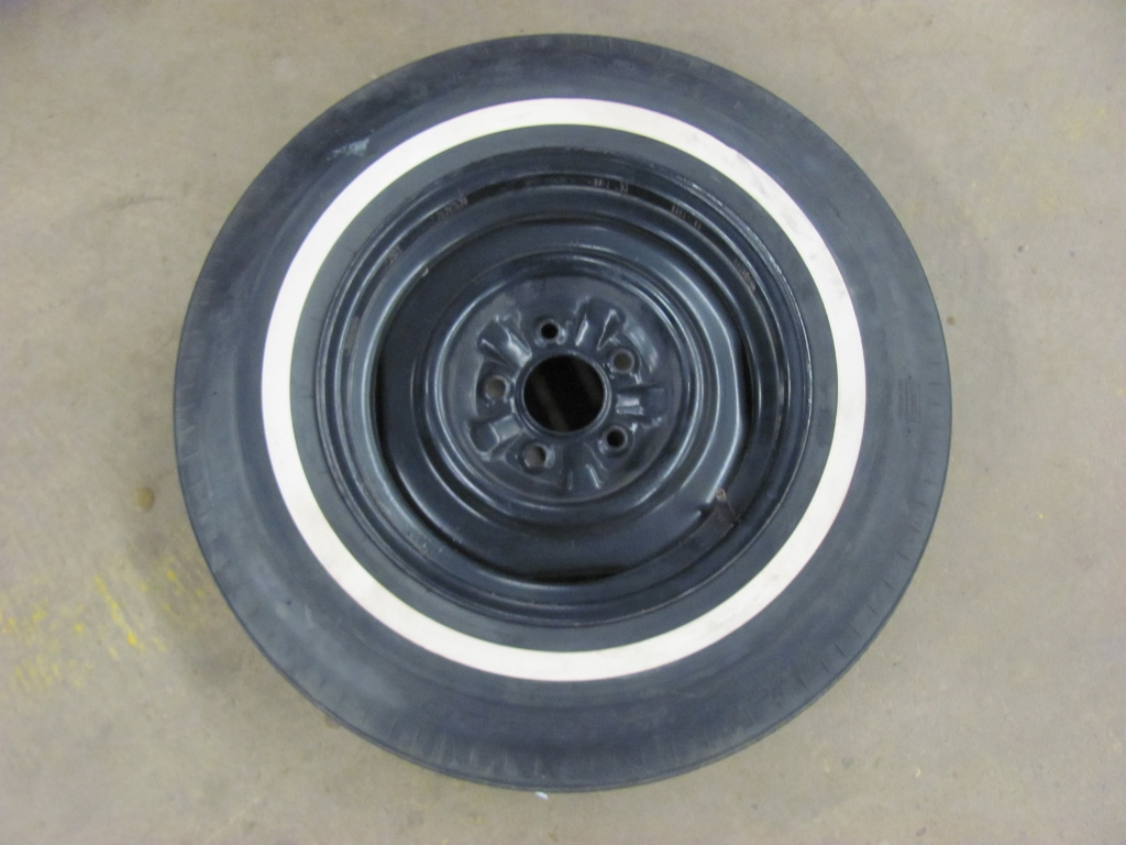 RARE Original 1965 65 Corvette Spare Tire & Wheel US Royal NON DOT Tire & Rim | eBay