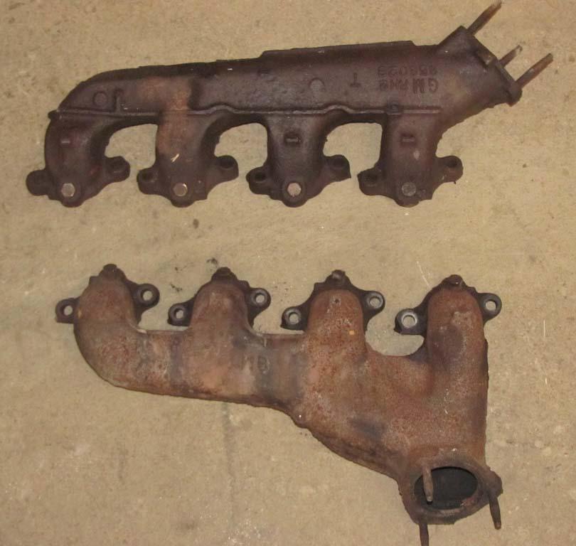 73 74 75 Chevelle Chevy 454 Exhaust Manifolds Big Block