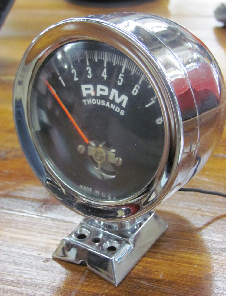 yamaha 150 outboard tachometer wiring diagram dixco at-5001 tachometer tach with pedestal 8000 rpm at ... dixco tachometer wiring #3