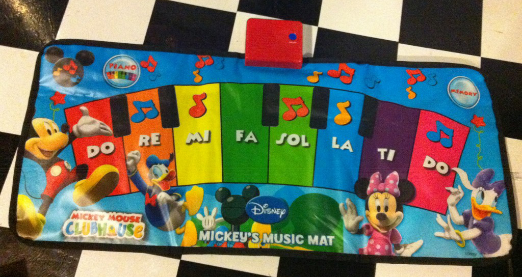 Disney Mickey Mouse Clubhouse Mickey S Music Mat Great